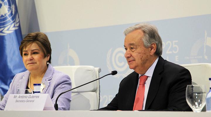 Генеральний секретар ООН Антоніу Гутерріш виступив на Конференції з питань клімату
