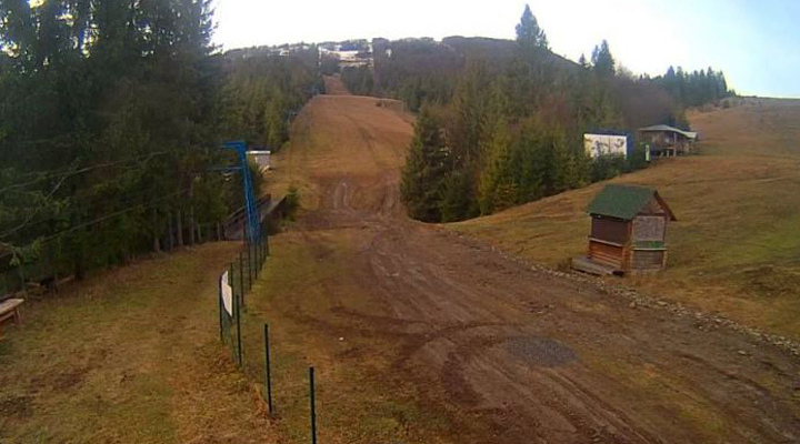 гірськолижні курорти зазнають збитків через відсутність морозів і снігу