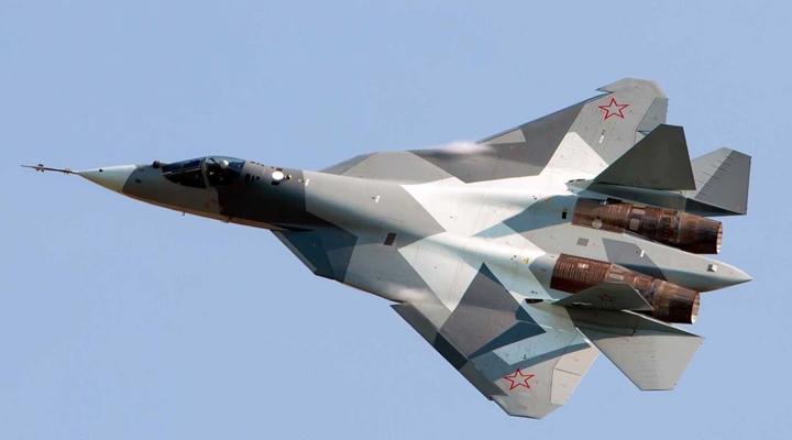 винищувач Су-57 розбився в російській тайзі