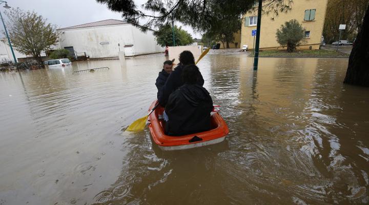 повінь у Франції