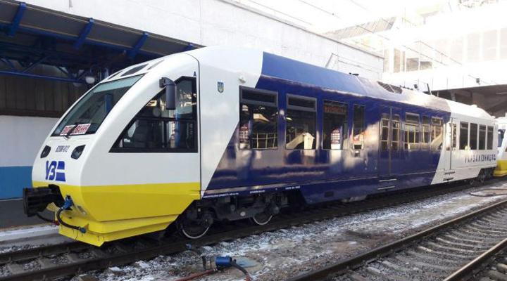 поездом из Киева до Борисполя к 1 декабря 2019 года воспользовалось около миллиона человек