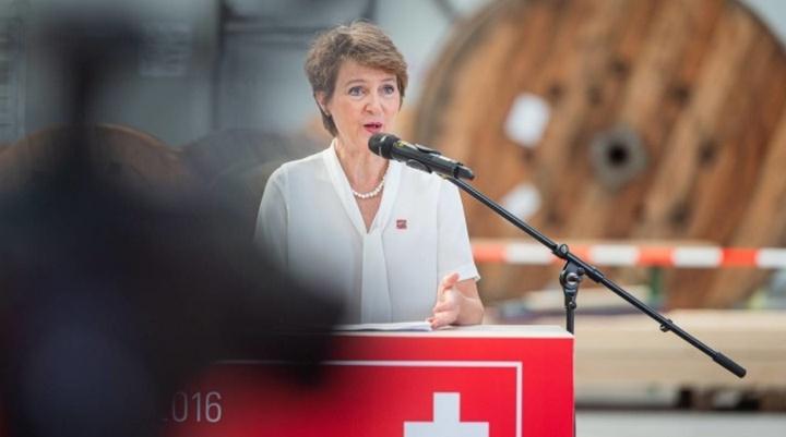 Симонетта Соммаруга президент Швейцарии