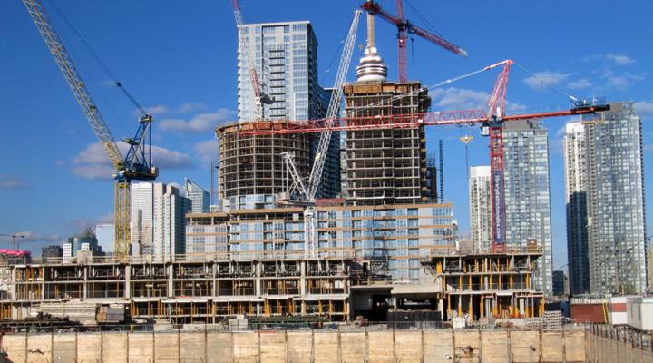 будівельний сектор України показав найбільший приріст
