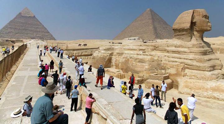 туристична галузь Єгипту інтенсивно розвивається