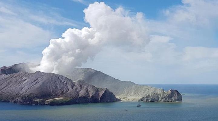 в Новій Зеландії очікується нове виверження вулкана Уайт Айленд