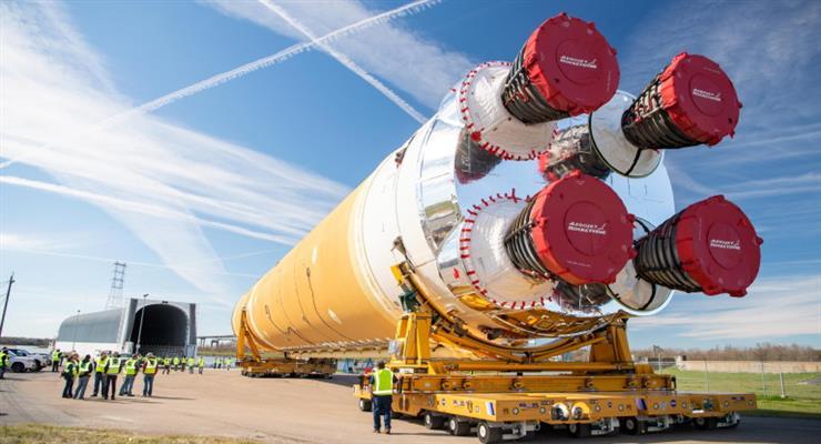 мега ракета НАСА