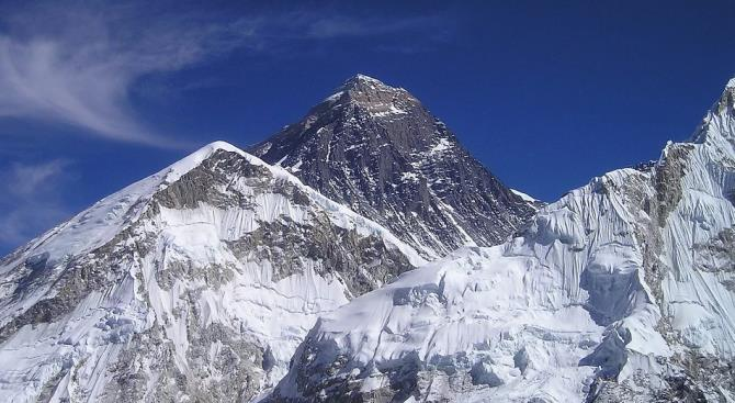 Снега Эвереста тают