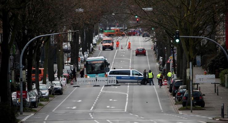 эвакуировация в Дортмунде из-за четырех бомб ВМВ