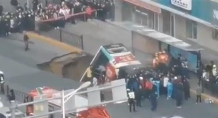 Авария автобуса в Китае