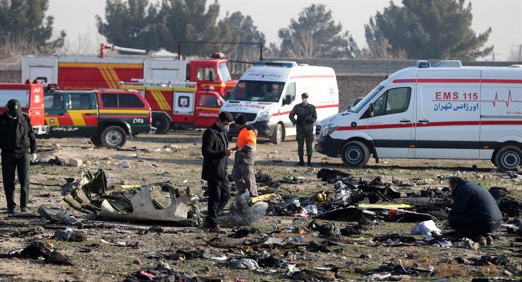 расследование крушения самолета в Иране