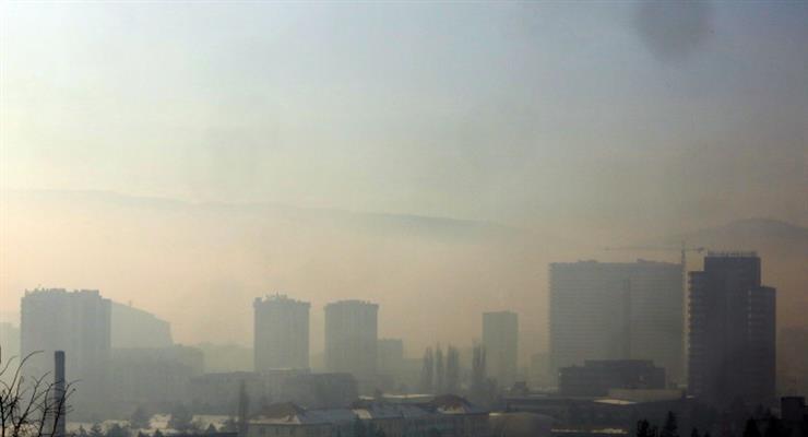 загрязнение воздуха на Балканах