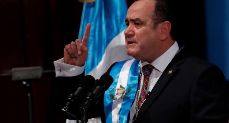 Новый президент Гватемаллы