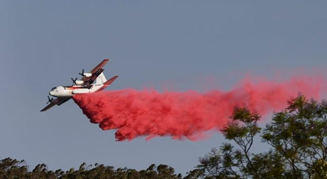 В Австралии самолет, тушивший пожары, потерпел крушение