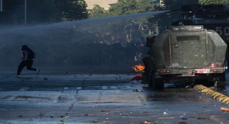 Десятки пострадавших в результате очередных беспорядков в Бейруте