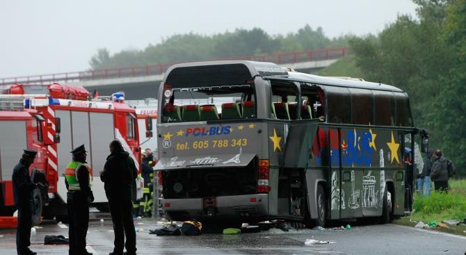 Погибли дети. ДТП со школьным автобусом в Германии