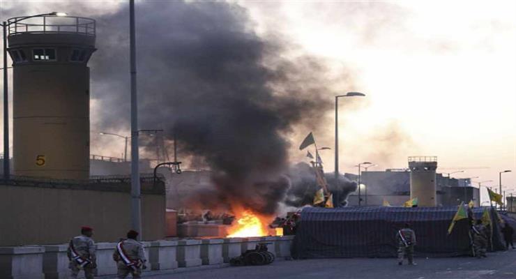Один пострадавший после новой ракетной атаки на посольство США в Ираке