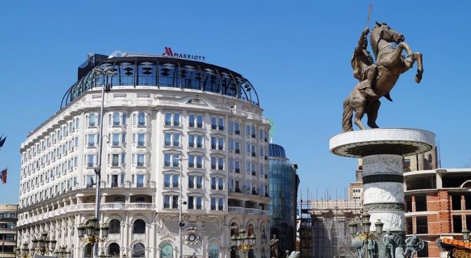 Торговый центр в Скопье был эвакуирован из-за сигнала бомбы
