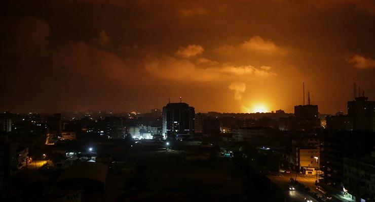 Израиль нанес удар по ХАМАС в cекторе Газа