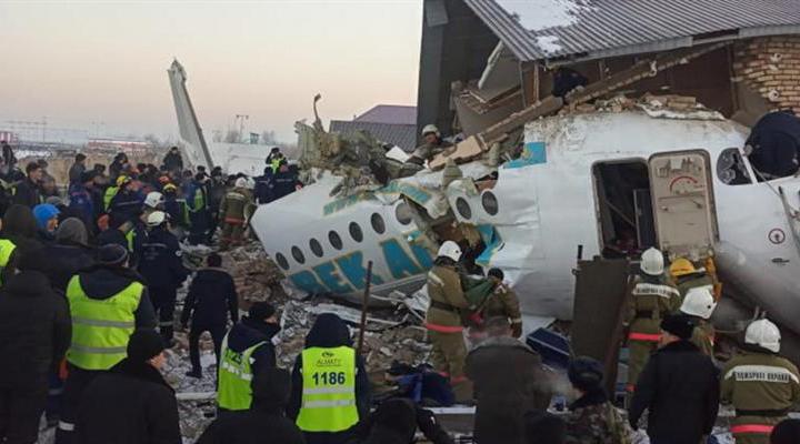 названа предварительная причина авиакатастрофы в Алматы