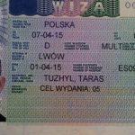 Робоча віза в Польщу: її види, етапи оформлення, вартість