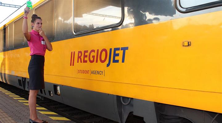 RegioJet - одна из крупнейших чешских компаний в области железнодорожных перевозок