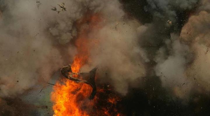 вибух в Іспанії на хімічному заводі