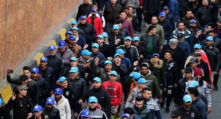 Сотни людей вышли на протест против нового премьер-министра Ирака