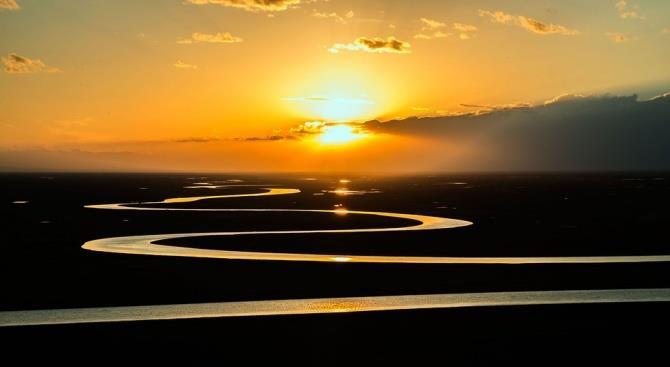 Реки нагреваются с той же скоростью, что и атмосфера
