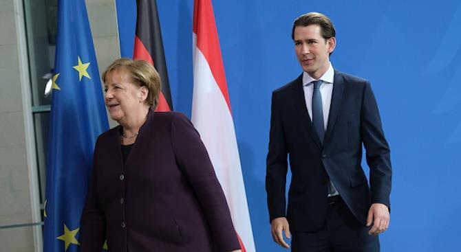 Канцлеры Германии и Австрии оспорили бюджетные рамки ЕС