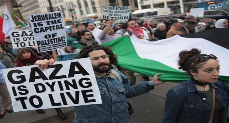 Палестина попросит ООН остановить ближневосточный мирный план Трампа