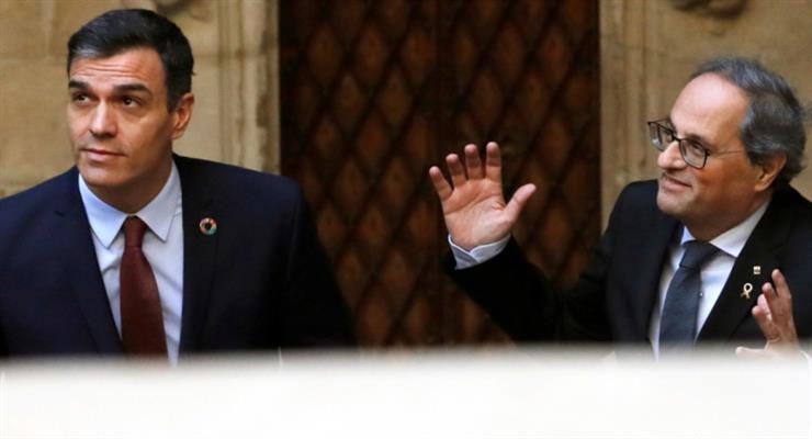 Педро Санчес ведет переговоры об улучшении отношений с лидером Каталонии