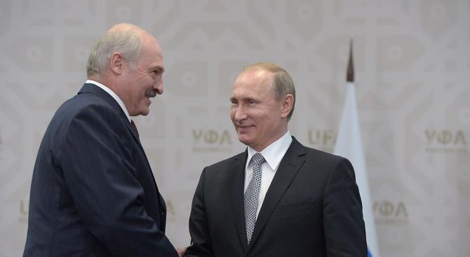 Путин и Лукашенко не пришли к соглашению по нефтяному спору и отправились играть в хоккей