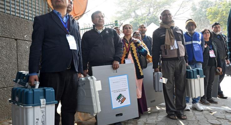 Моди теряет Нью-Дели, согласно опросу на выходе