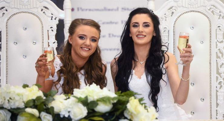 Первый однополый брак заключен в Северной Ирландии
