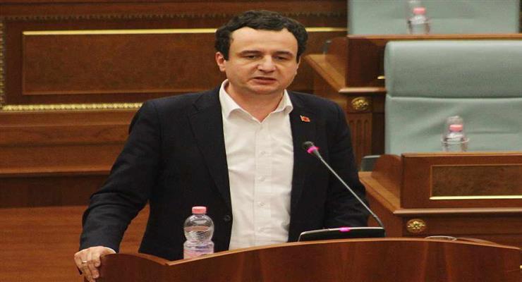 крон пишет Курти об отмене таможенных пошлин Сербии