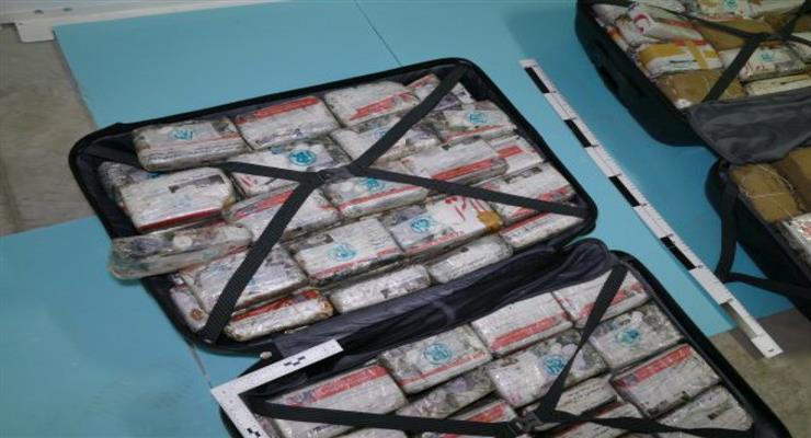 Рекордная партия: 5 тонн кокаина была изъята в Коста-Рике