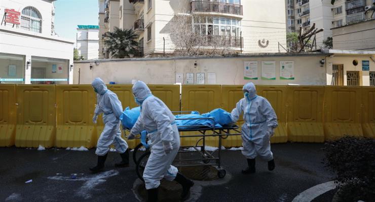 Китайцам запретили покидать свои дома во втором наиболее пострадавшем от коронавируса городе
