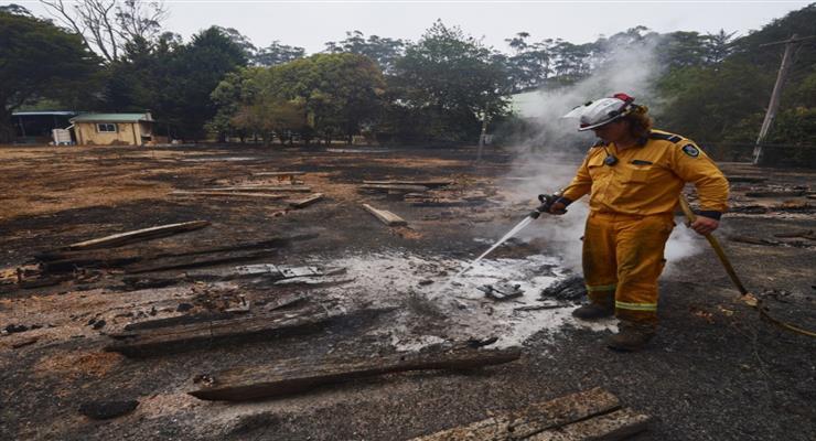 Дождь принес достаточно воды в сожженные районы Австралии
