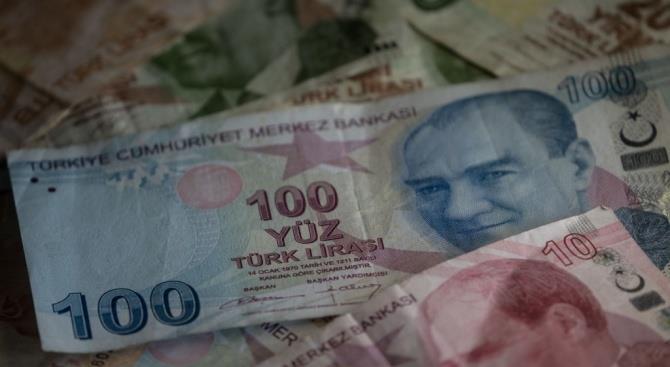 Турецкая лира обесценилась до почти годичного минимума