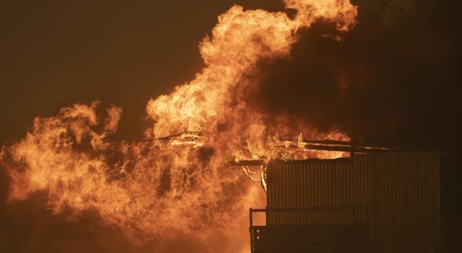 Дети погибли при пожаре в Австралии