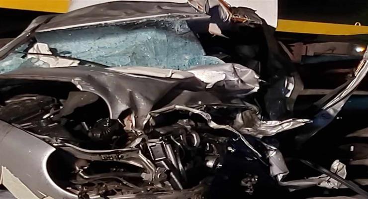 Десятки пострадавших в автокатастрофе с 200 автомобилями (ФОТО)
