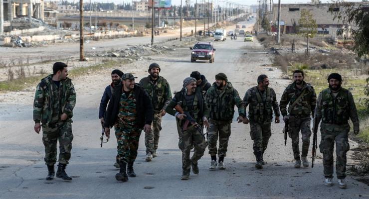Шоссе Алеппо-Дамаск открылось впервые за 8 лет
