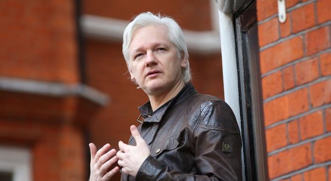 «Не выдавай Ассанжа», - призвали протестующие в Лондоне