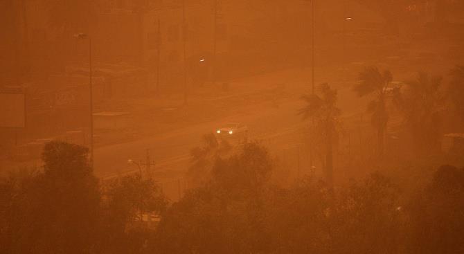 Из-за песчаной бури закрыли аэропорты Канарских островов