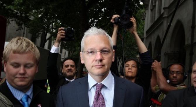 Начинается суд по делу об экстрадиции Джулиана Ассанжа в США