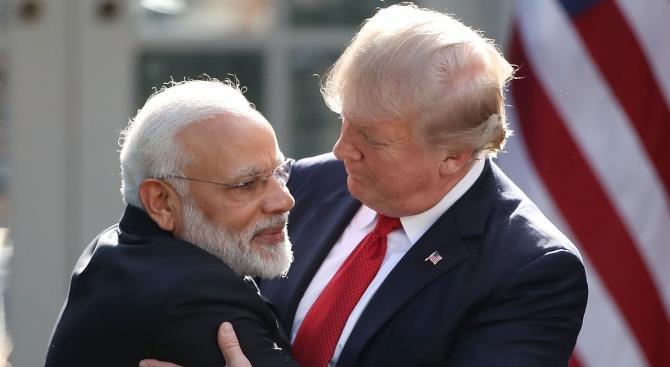 Дональд Трамп: мы хотим укрепить связи с Индией в области обороны