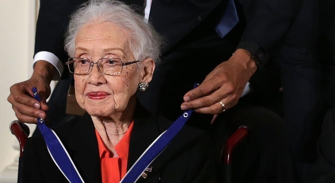 101-летняя математик НАСА Кэтрин Джонсон умерла