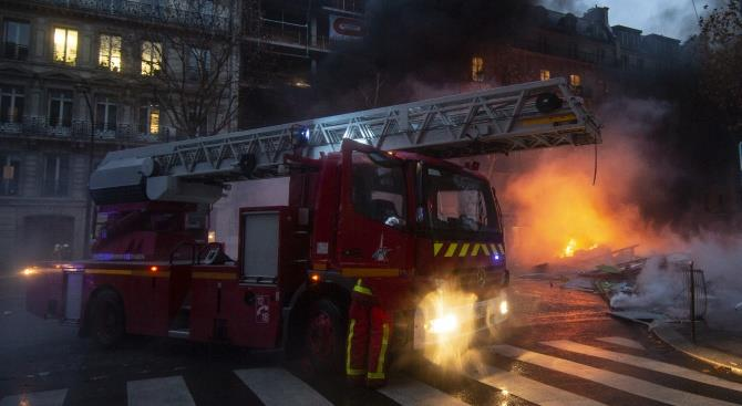 Страсбургский пожар преднамеренный