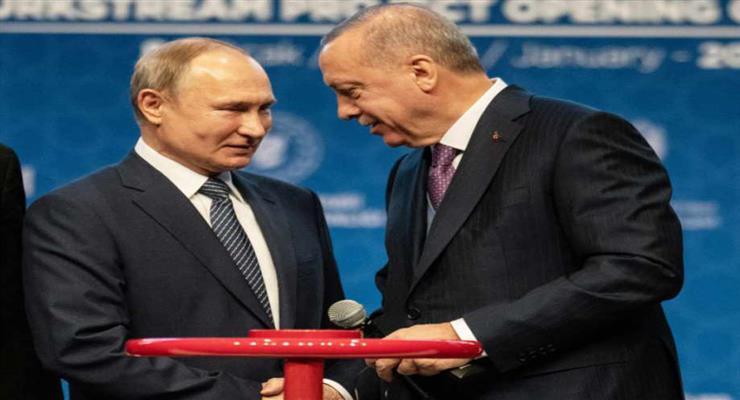 Эрдоган ведет переговоры с Путиным по Сирии