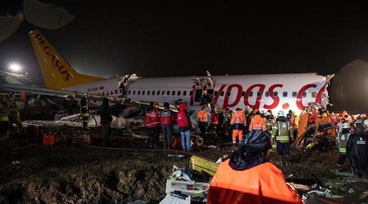 ,авіакатастрофа літака турецької бюджетної компанією Pegasus